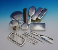 Cordis by Tiffany and Co Sterling Silver Dresser Set 13pc Vintage (#3461)