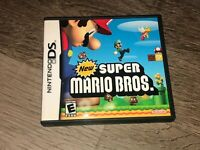 New Super Mario Bros. Nintendo DS Complete CIB Authentic