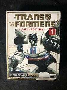 Takara Transformers Collection #1 TFC Meister/Jazz 2002