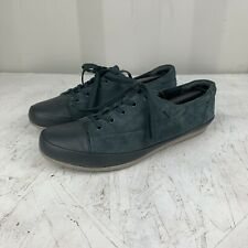 Clarks Collection Soft Cushion Grey Suede Leather Women's Shoes Size 6.5