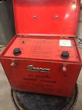 Vintage Snap-On All Weather Battery Charger MT-630 (RARE FIND)