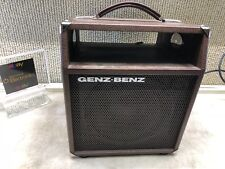 "GENZ-BENZ  EMPTY CABINET 8""  BROWN GREAT FOR PROJECTS ~FREE SHIP"