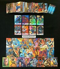 1995 Marvel Masterpieces Base Canvas Holoflash Set + Card Singles You Choose