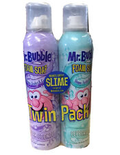 Mr.Bubble Foam Soap Twin Pack Sugar Cookie & Peppermint