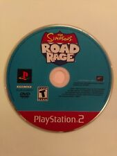 Simpsons Road Rage - Greatest Hits (Sony PlayStation 2, 2001) DISC ONLY