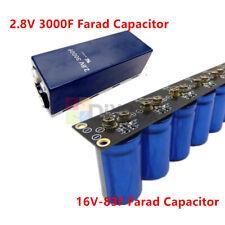 28v 3000f 16v 83f Farad Aluminum Super Capacitor Capacitance Single Row