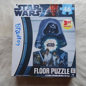 STAR WARS Puzzle DARK VADER Puzzle 2012 46 Piece FLOOR Puzzle 3FT Sci fi Puzzle