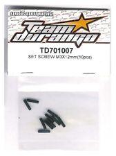 RC Team Durango TD701007 SET SCREW M3x12mm 3x12 mm Universal Car Buggy Truck 10p