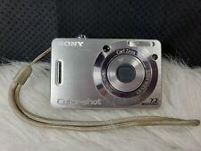 Sony Cyber-shot DSC-W55 7.2MP Digital Camera - Silver