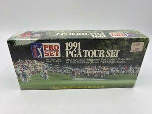 1991 Pro Set PGA Tour Golf Factory Sealed Unopened Set Box