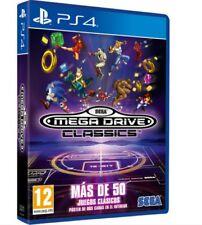 Juego físico PS4 MEGA DRIVE CLASSICS de Sega PAL España (NUEVO PRECINTADO)