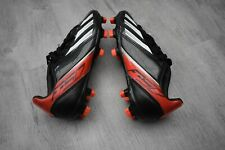BOYS ADIDAS SIZE 12 FOOTBALL TRAINERS BLACK STUDDED SHOES BOOTS EUR 30.5