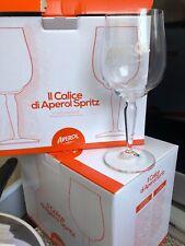 Spritz ! 4 x große schöne original Aperol Gläser für den exklusiven Spritzgenuss