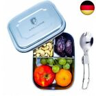 Alpin Loacker 1000 ml Stainless Steel Lunch Box + (ohne 350ml Thermosflasche)