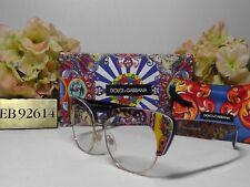 DOLCE & GABBANA DG4277 Cat Eye Blue Frame Sunglasses 52 17 140***NIB***ITALY**