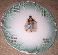 Antique Portrait Plate - Decorative China