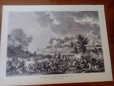 Planche dite Carle Vernet : Bataille de St.George  .Prés Mantoue . An 4*