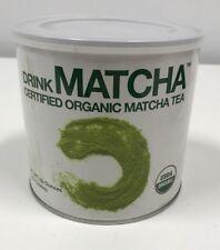 Drink Matcha USDA Certified Organic Green Tea Powder 16oz Gluten Free 9/2018