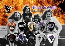 BLACK SABBATH - A5 SIZE  - GUITAR PICK DISPLAY