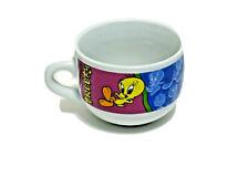 Vintage Looney Tunes 1998 Tweety Bird Ceramic Coffee Mug Soup Cup