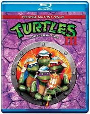 Teenage Mutant Ninja Turtles III: Turtles in Ti (2012, Blu-ray NIEUW) BLU-RAY/WS