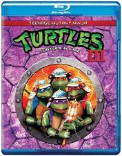 Teenage Mutant Ninja Turtles III: Turtles in Ti (2012, Blu-ray NIEUW) BLU-RAY/WS