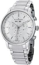 Alexander A101B-01 Statesman Men's Chronograph Stainless Steel Swiss Watch