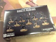 40K Warhammer Drukhari Dark Eldar kabalite Warriors Sealed