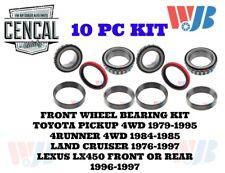 FRONT WHEEL BEARING & SEAL KIT TOYOTA PICKUP 4RUNNER LAND CRUISER LX450  KIT 29