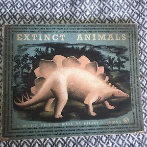 1946*1st* Extinct Animals - Hilary Stebbing (Puffin Books 55)