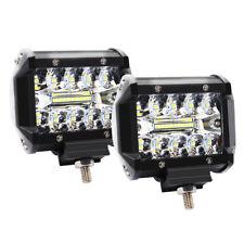 4inch 120W LED Work Light Bar Flood Spot Beam Offroad 4WD SUV Driving Fog Lights