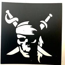 5 Pirate ⚔️ Bandana Halloween stencils top up ur glitter tattoo kit Facepaint