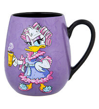 Disney Parks Daisy Duck Mornings Ceramic Mug NEW