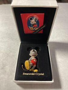 1997 Swarovski Crystal Mickey Mouse The Arribas Collection