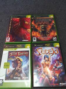 Xbox games bundle doom 3 spiderman 2 jade empire sudoku all have Manuel's