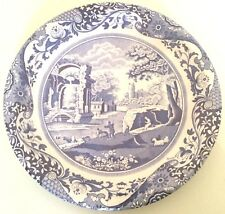 Spode Blue Italia Dinner PAPER Plates-8 count-NEW