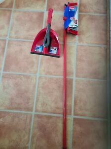 Vileda broom & dust pan brush set
