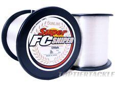 Sunline Super FC Sniper Fluorocarbon 1200 Yard  Spool - Select Lb. Test