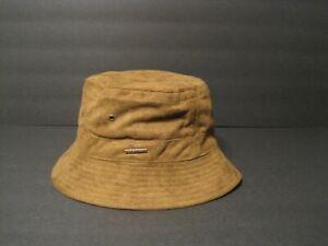 STETSON polyester Suede BUCKET HAT brown XL