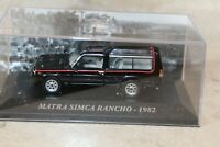 "MATRA RANCHO MIDNIGHT 1982 1/43 IXO ALTAYA (sous boite ""vitrine"")"