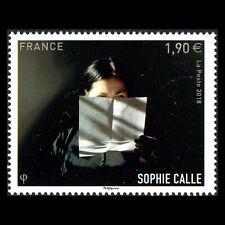 France 2018 - Sophie Calle Art - MNH