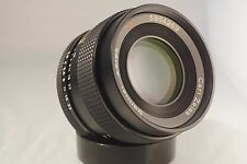 CARL ZEISS SONNAR CONTAX 85mm f 2.8 LENS. LEGEND. + FREE SONY ADAPTER & BAG