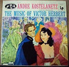 ANDRE KOSTELANETZ Music of Victor Herbert LP OOP mono