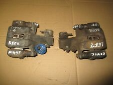 HONDA CIVIC MK7 PAIR OF LEFT & RIGHT REAR BRAKE FIT CALIPERS & CARRIERS