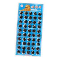 50 paires à coudre sur le bouton métallique de bouton-pression de bouton