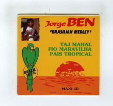 CD SINGLE JORGE BEN BRASILIAN MEDLEY FIO MARAVILHA