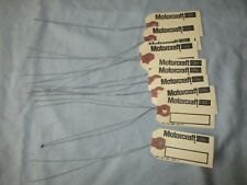 12 NOS Ford Motorcraft Parts ID Wire Tags,Shelby,Mustang,Cougar,Torino,Linclon