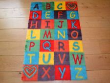 New Boys Girls ABC Colourful Large Small Rug Fluffy Soft Bedroom Floor Mat Cheap