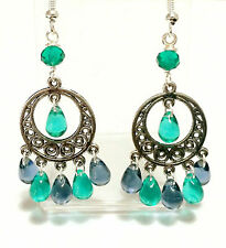 Handmade Glass Costume Earrings without Stone