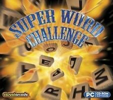 Super Word Challenge  Enjoy hours of brain-teasing fun  Win 7 8 Vista XP  NEW